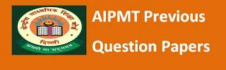 AIPMT Previous Question Papers