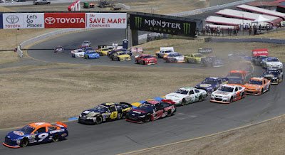 The #NASCAR K&N Pro Series West returns to Sonoma Raceway for the Carneros 200.
