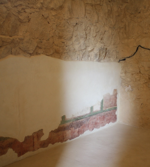 masada fresco walls
