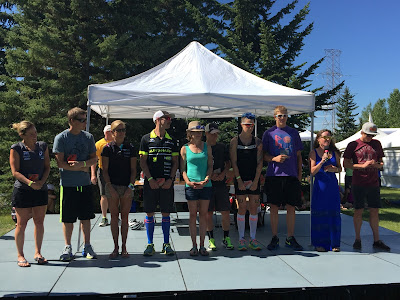 "A race report - Calgary IM 70.3 (I'm a ""half"" Ironman ... Steve King never said it ... he must be tempted to.?)"