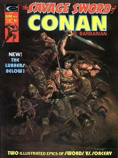 Marvel Comics, Savage Sword of Conan  #6