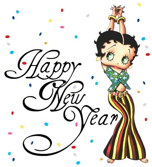 Betty Boop Feliz año nuevo - Blog de imágenes
