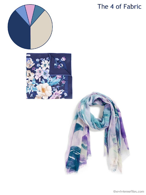 adding 2 scarves to a 6 by 4 Accessory Wardrobe