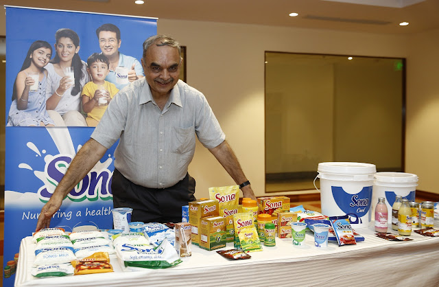 Mr. Rajiv Khanna with Products