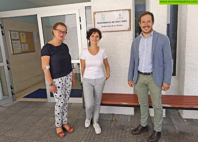 El Cabildo concluye las obras de remodelación de la primera planta de la Residencia de Pensionistas