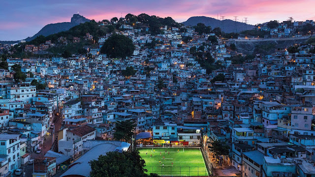 Football Pitch of Rio de Janeiro Generates Electricity With Pavegen's Tiles