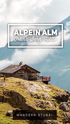 Franz-Senn Hütte - Rinnensee | Wandern im Stubaital Tirol