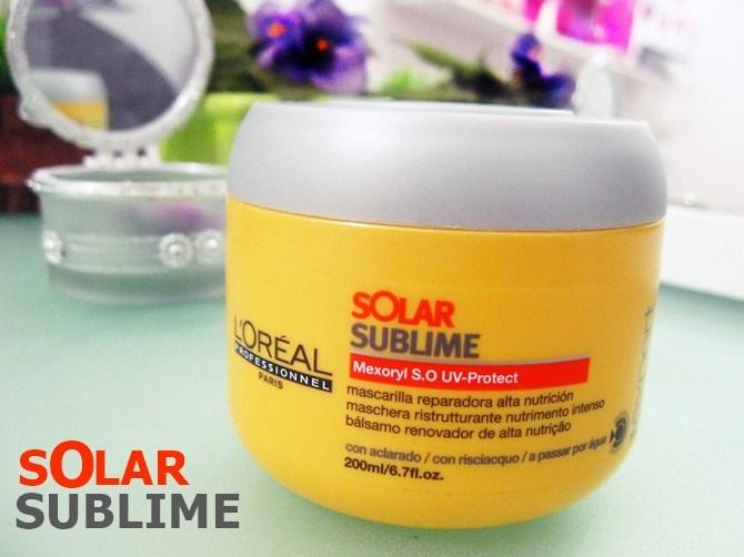 Máscara Solar Sublime Loreal