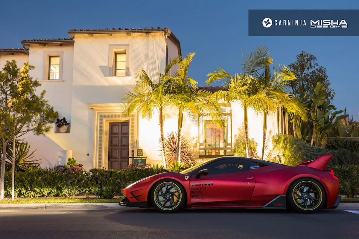 bản độ Ferrari 458 Italia