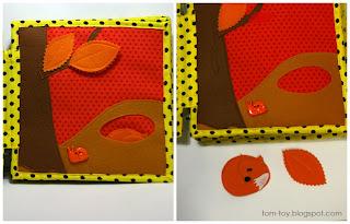orange Rainbow quiet book - children's fabric busy book, развивающая книжка