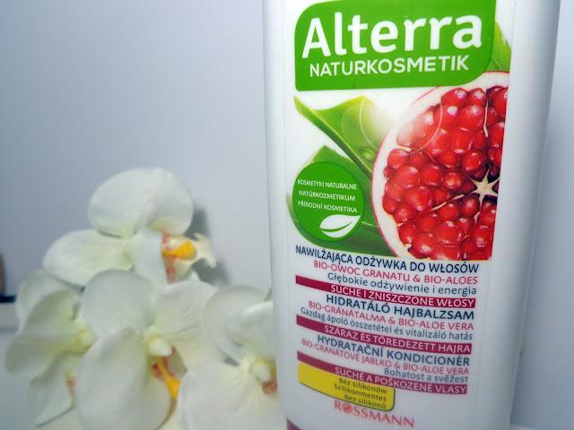 """Alterra, Nawilżająca odżywka """"Granat i Aloes"""""""