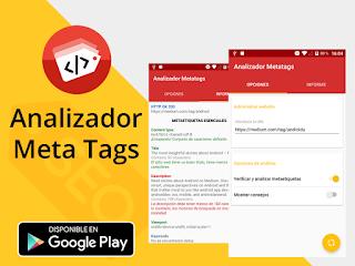 Meta tag analyzer tool