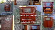 DAVID ANDERSEN DA VINTAGE RADIOES * Made in NORWAY *