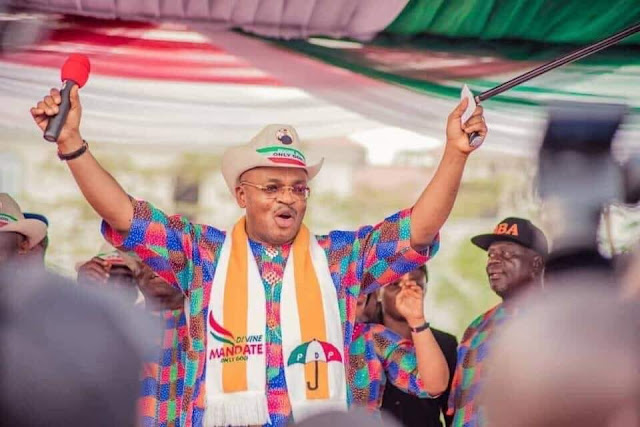 Governor Udom Emmanuel set to inaugurate 35 new roads