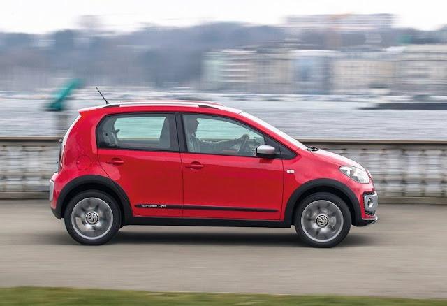 2013 Volkswagen Cross Up Side