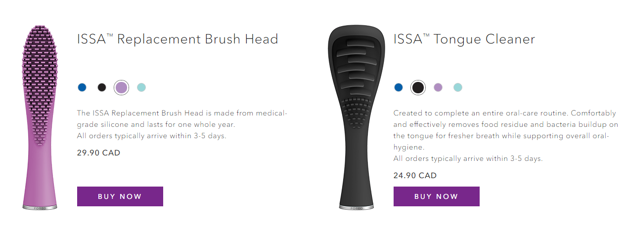 ISSA Replacement Brush Head