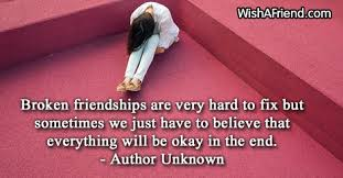 Quotes About Broken Friendships Beauteous Broken Friendship Quotes And Wishes Images  Really Good Life Quotes