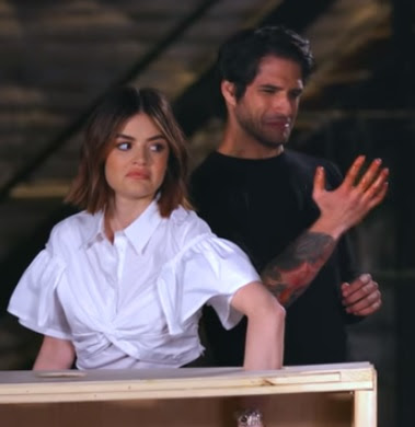 Lucy Hale & Tyler Posey play Truth or Dare game