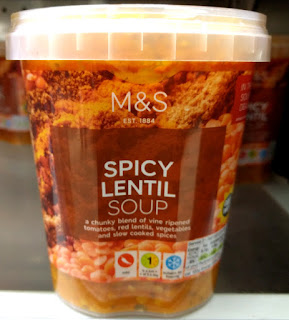 M&S Spicy Lentil Soup