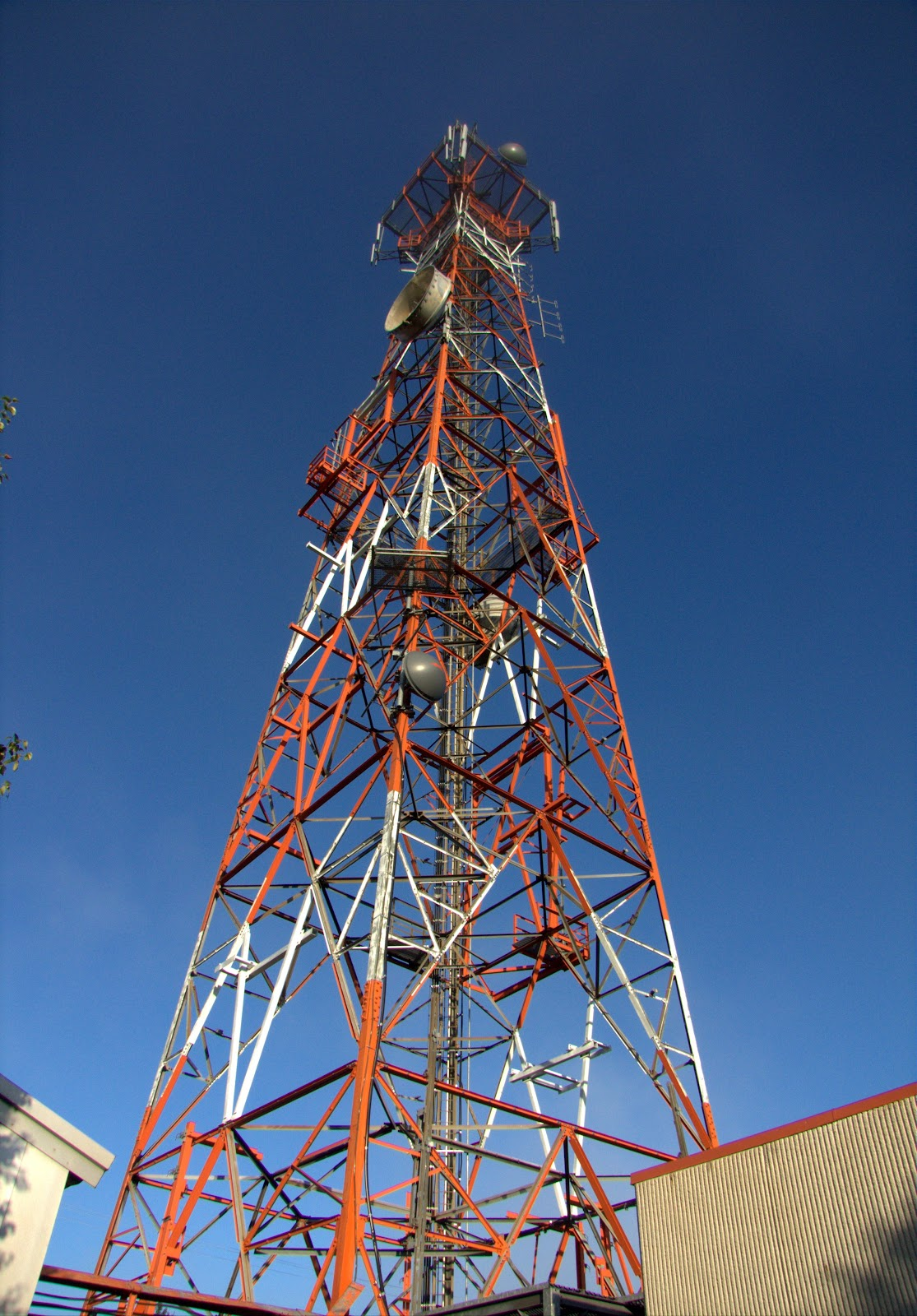 Microwave Tower Kempis Mountain