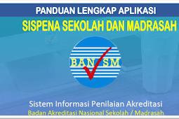Panduan lengkap Aplikasi SisPenA Akreditasi Sekolah dan Madrasah