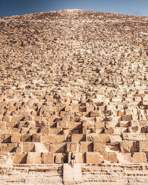 Grande Pirâmide de Gizé 'Quéops' (Imagem: Reprodução/Casos Interessantes)