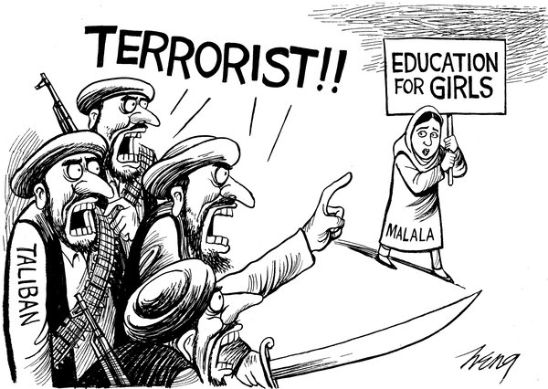 Quotes About The Taliban Malala. QuotesGram