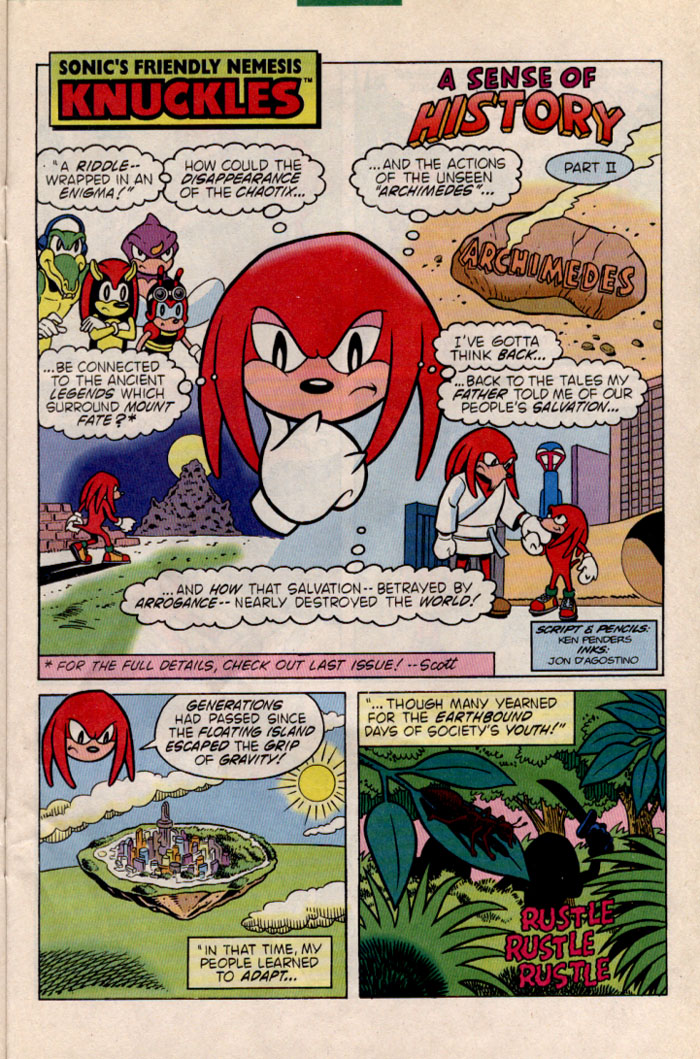 Read online Sonic The Hedgehog comic -  Issue #35 - 19