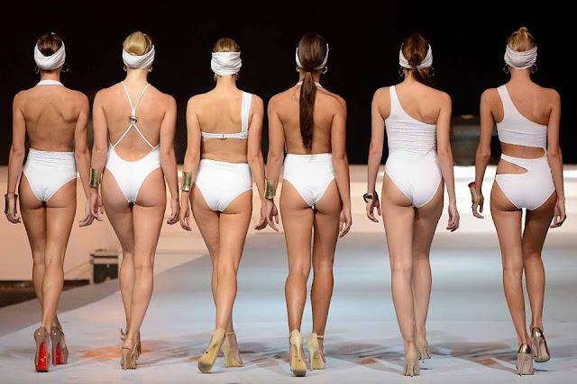 Colombo Swim wear fashion show