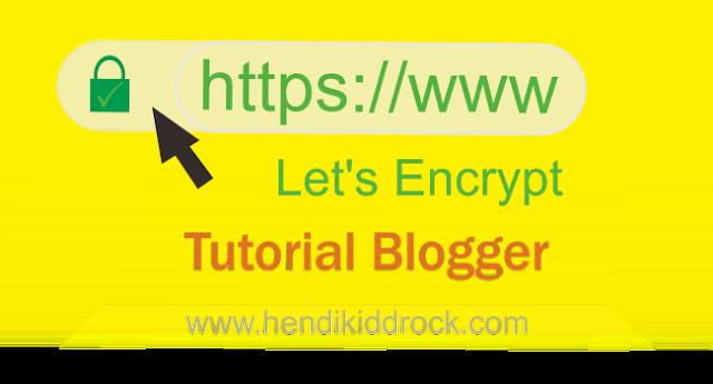 Cara Mudah Menampilkan Icon Gembok Warna Hijau Di Blogger