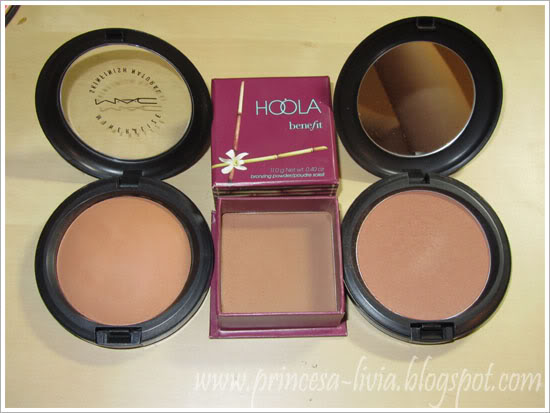MAC Give Me Sun, Benefit Hoola, MAC Golden Bronzer Review