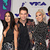 Tamara Dhia, Lawrence Jackson, Erik Zachary, Amy Pham e DC Young Fly  marcam presença no MTV Video Music Awards 2017 no The Forum em Inglewood, Califórnia - 27/08/2017