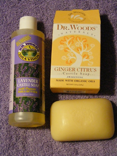 The Vegan Kitchen: Product Review: Dr  Woods Soap
