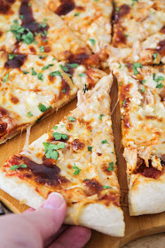 This flavorful and savory barbecue chicken pizza is the perfect way to jazz up your pizza night at home!