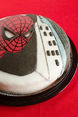 Torta uomo ragno (Spider - Man)