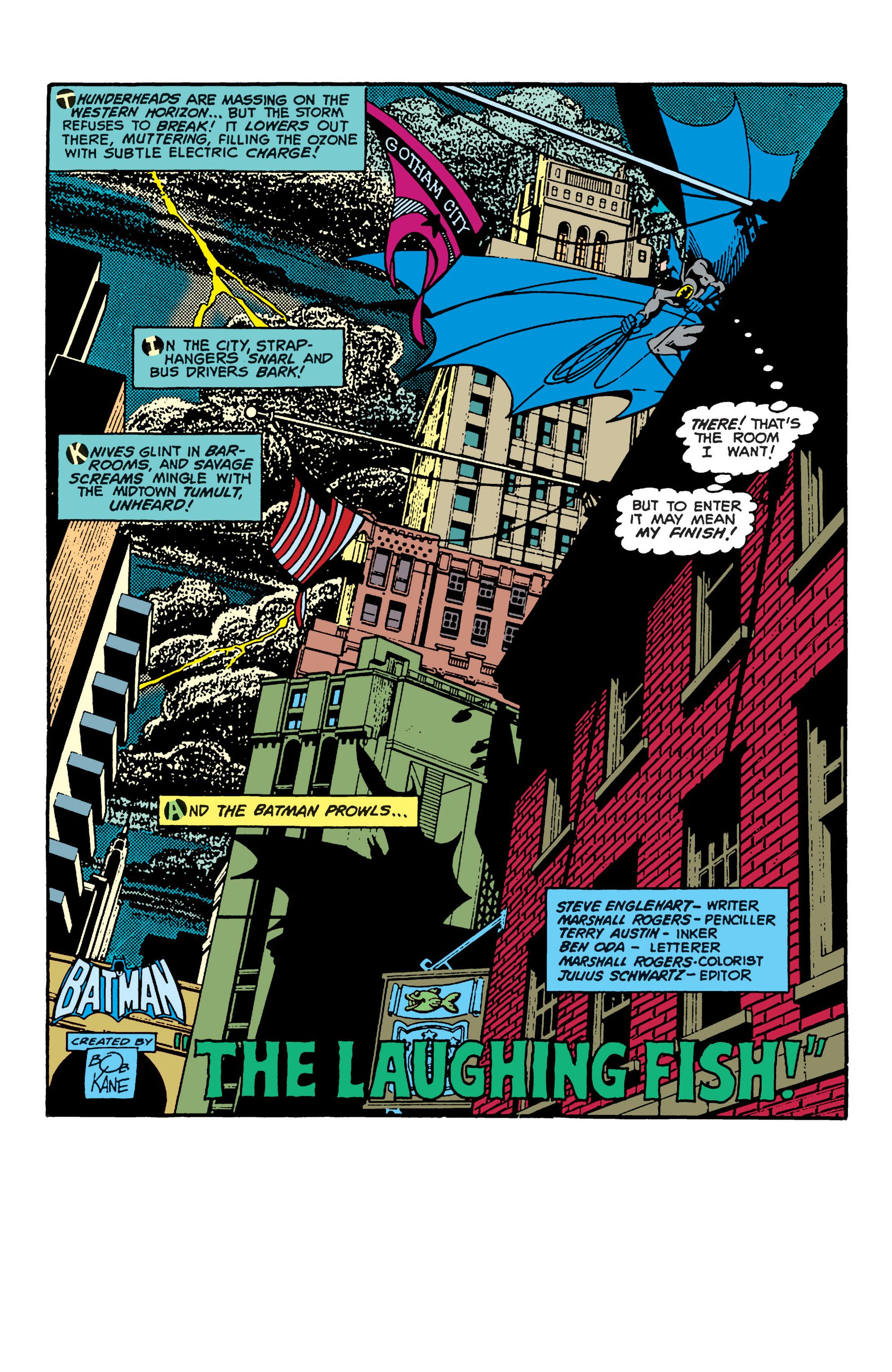 Detective Comics (1937) 475 Page 1