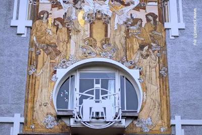 Casa estilo Art Nouveau en Bruselas, B{elgica - Maison Cauchie 1905