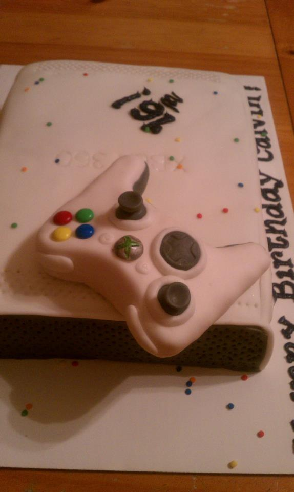 Introducing Xbox 360 Cake For My 16 Year Old Son