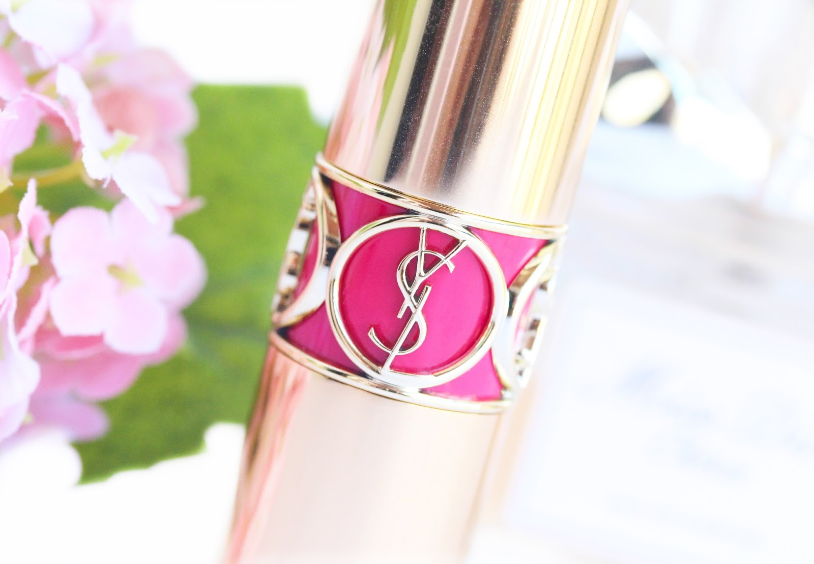 YSL Rouge Volupte in #11 Rose Culte