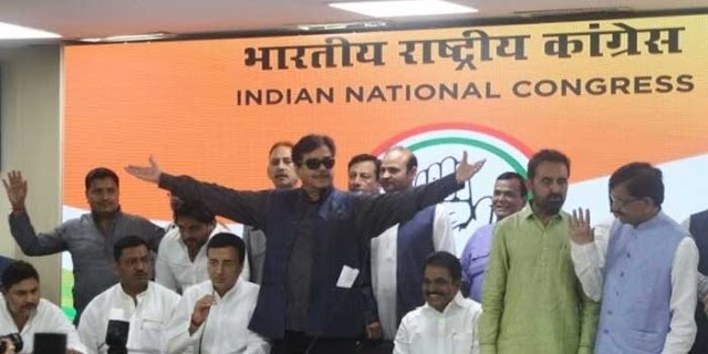 शत्रुघ्न सिन्हा: कांग्रेस ज्वाइन करते ही टिकट मिला, अमित शाह पर हमला | NATIONAL NEWS