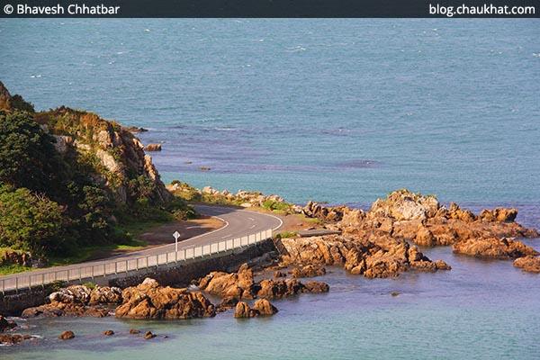 Scorching Bay of Wellington