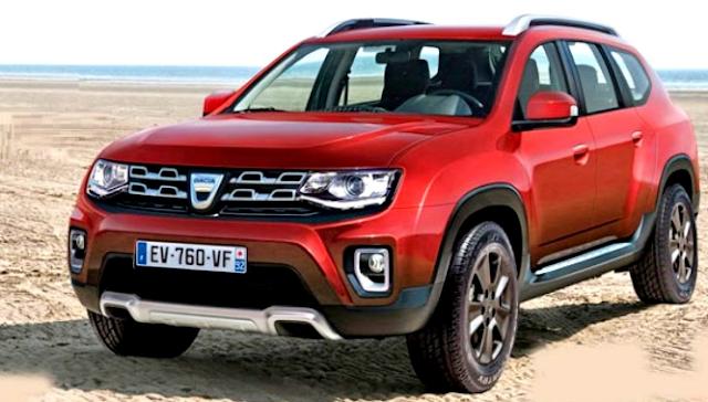 2017 Dacia Duster Design