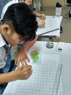 Lesson Plan Praktik Memperbesar Peta Kelas XII