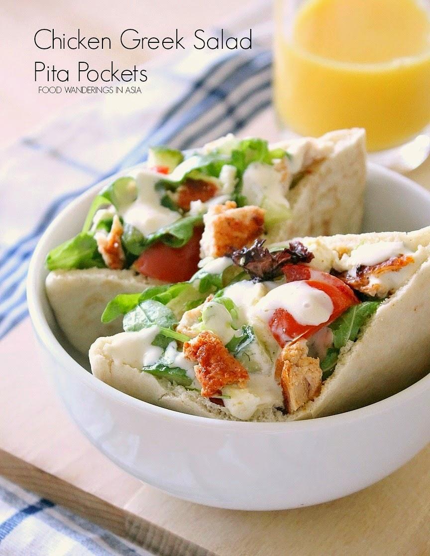 Healthy Chicken Pita Pocket Recipes