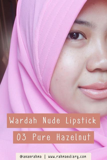 Wardah Nude Lipstick 03