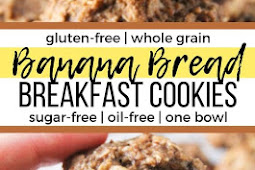 Banana Bread Breakfast Cookies