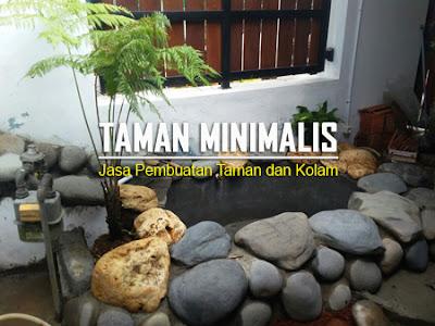 TUKANG KOLAM MINIMALIS DI CINERE | JASA PEMBUATAN TAMAN DAN KOLAM MINIMALIS