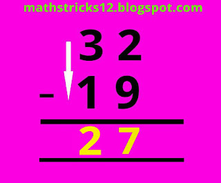 Fast subtraction trick without using borrowing