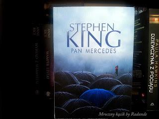 """Mroczny kącik : Stephen King """"Pan Mercedes"""""""