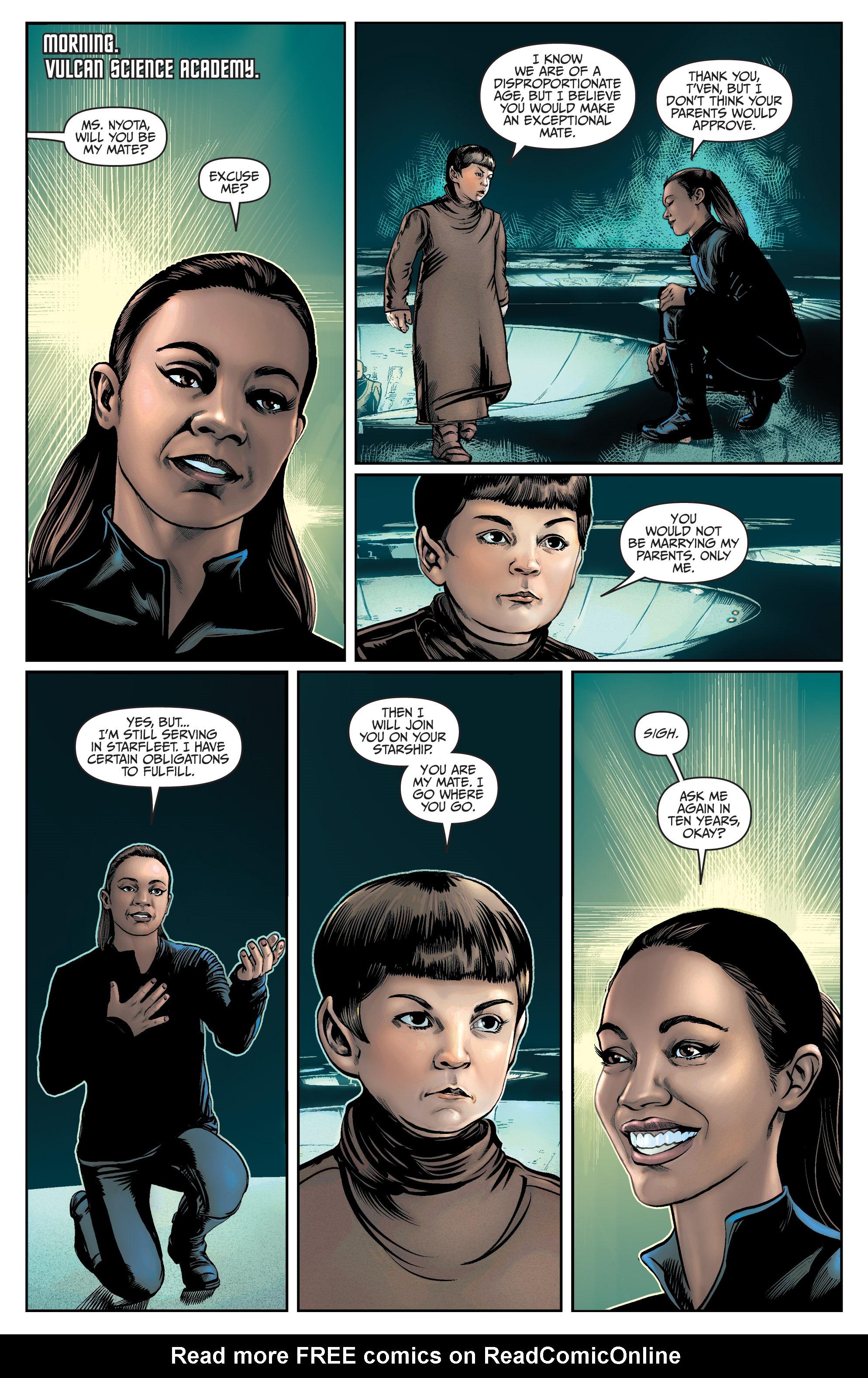 Read online Star Trek: Boldly Go comic -  Issue #9 - 11